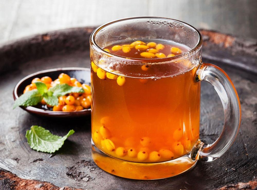 Пейте облепиховый чай и будьте здоровы!