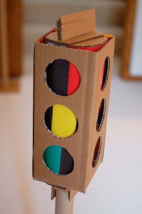 Как сделать своими руками светофор в детский сад