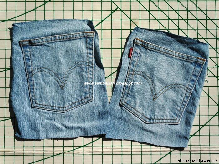 Прихватки своими руками из джинс с выкройками 882