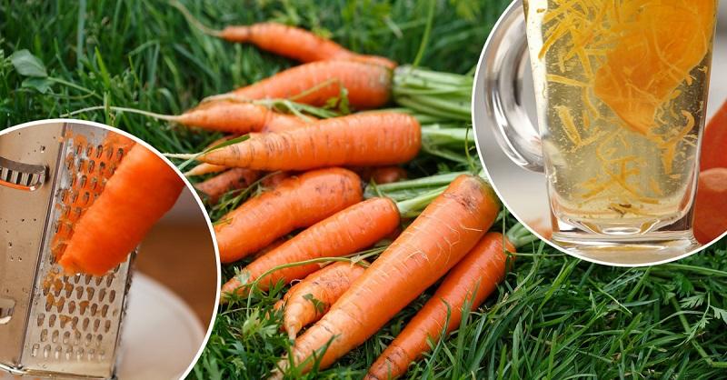 А вы слышали про чай из моркови?