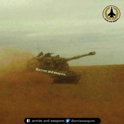 """В Сирии появились рссийские 152-мм самоходки 2С19 """"Мста-С""""?"""
