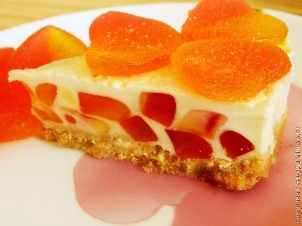 Шикарный торт-желе «Нежность» без выпечки. Десерт дня!