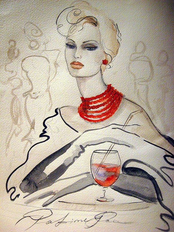 Художница из Италии Фатима Томаева-Габеллини
