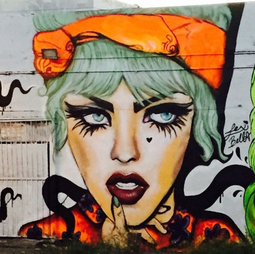 10. Майами, Флорида, США граффити, стрит-арт, художники