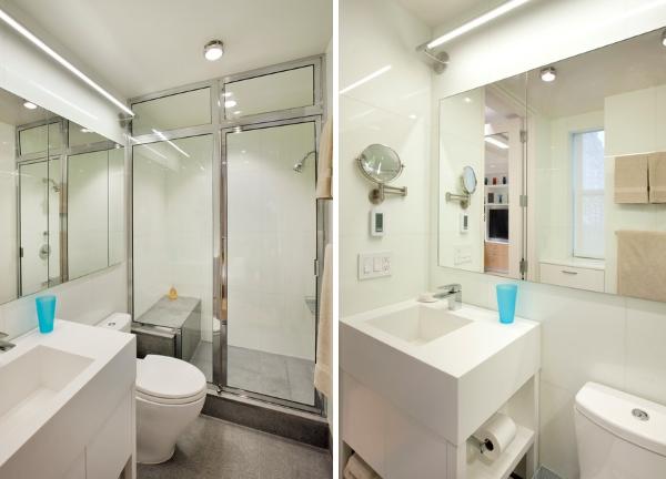 Дизайн ванной в маленькой квартире 40 кв м