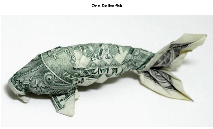 Рыба из денег своими руками пошаговая инструкция 93