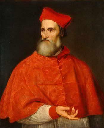 Тициан. Портрет кардинала Пьетро Бембо