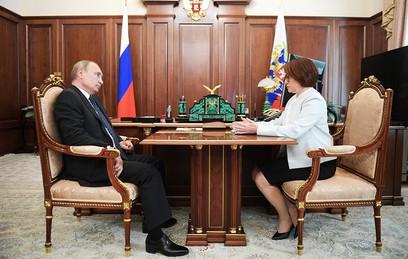 Глава Центробанка рассказала Путину об ипотечных кредитах
