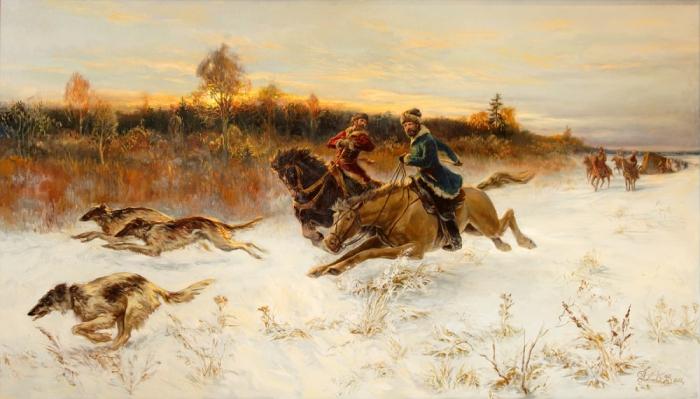 Першинская охота.