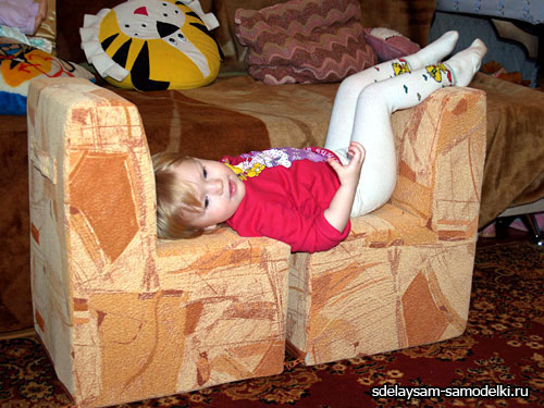 Мебель из картона. Мастер класс по изготовлению дивана своими руками