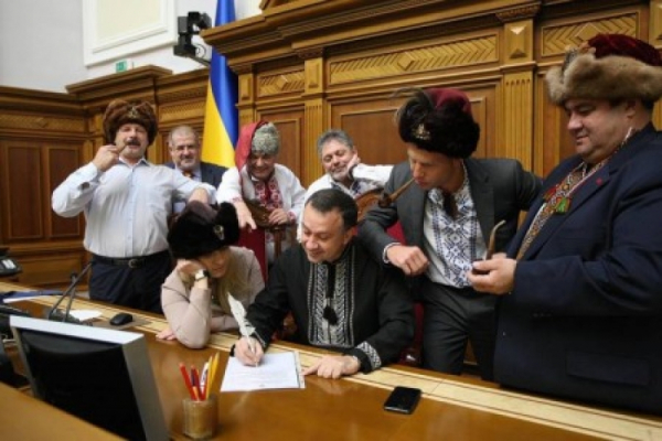 Депутаты Рады пишут письмо Путину за введенные санкции
