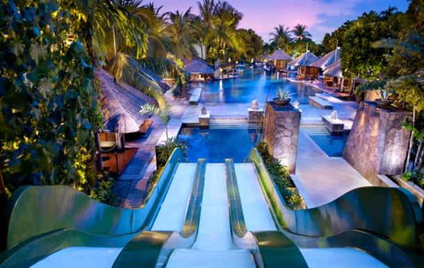 Десять лучших отелей с аквапарками