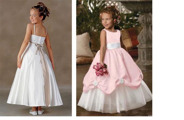 Предлагаемые нарядные платья для девочек оригинальны по стилю, фактуре ткан