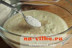 Кукурузный хлеб с начинкой из сыра и овощей