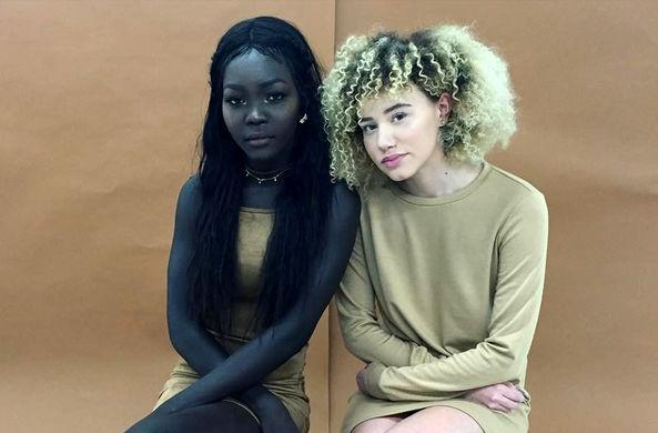 Королева ночи: модель прославилась благодаря коже угольного цвета