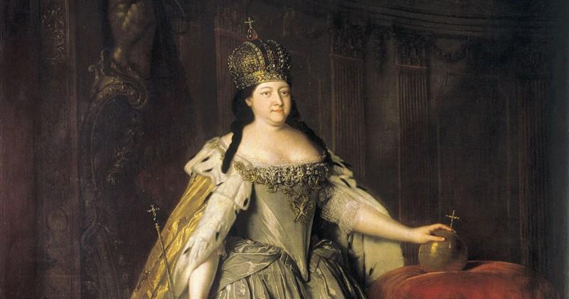 Анна Иоанновна императоры, россия, цари
