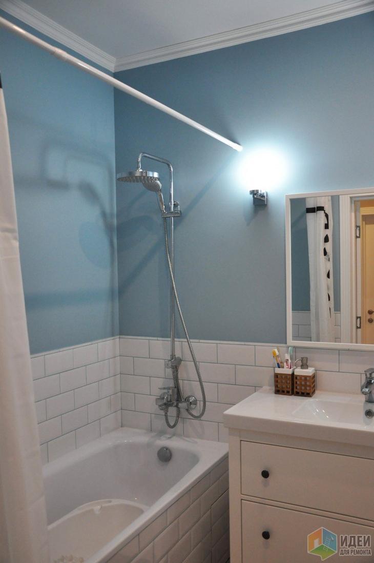 Ремонт ванны и санузла своими силами - не без косяков, но вполне прилично. Правда?