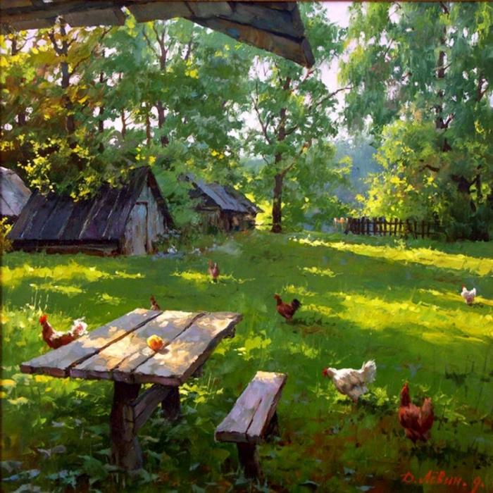 Дмитрий Лёвин - художник русского пейзажа