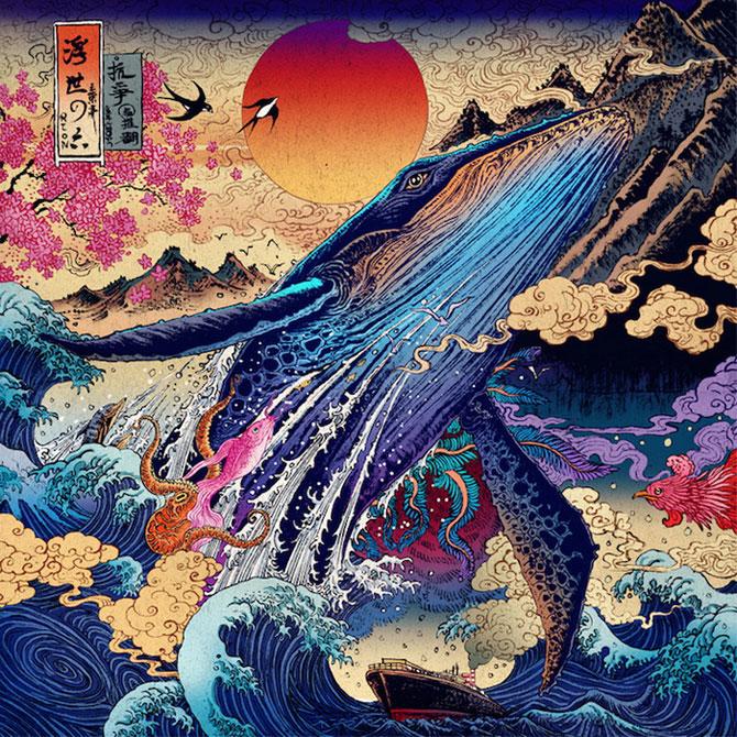 Настоящее волшебство азиатской культуры: захватывающие рисунки, которые можно рассматривать часами