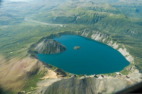 Озеро Катмай, штат Аляска, США