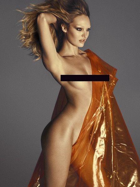 Фото откровенно голых моделей