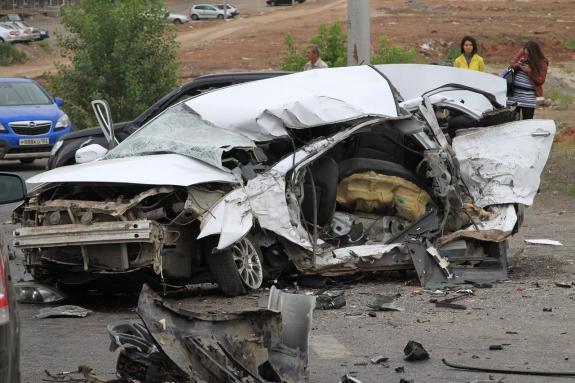 ГИБДД Уфы представила тройку самых страшных аварий этого года