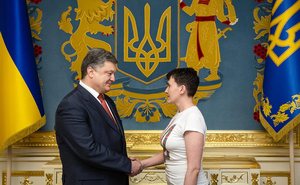 Порошенко после ареста Савченко заявил о предотвращении массовых терактов