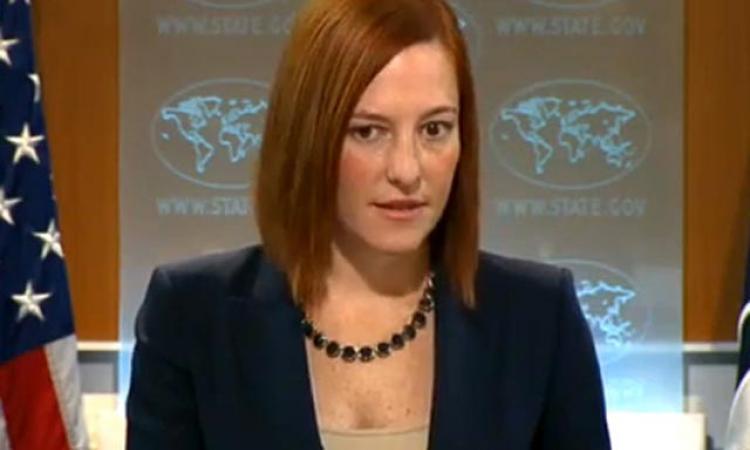 Псаки обещает России дальнейшую изоляцию за признание выборов на Донбассе