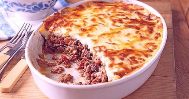 Мусака по-гречески с баклажанами - рецепты вкусного и оригинального блюда