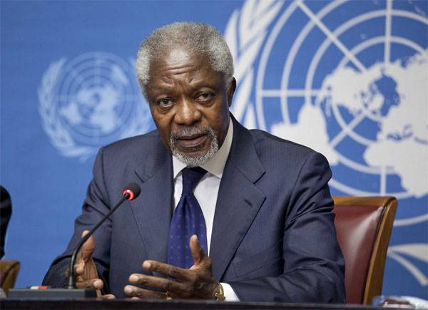 Не стало экс-генсека ООН Кофи Аннана