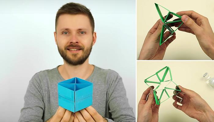 Оригинальная игрушка-трансформер, которую можно сделать своими руками