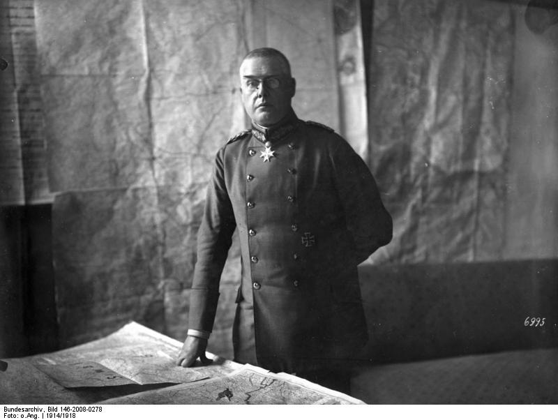 Отец «украинской» государственности – немецкий генерал Макс Гофман