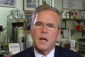 Jeb Bush Surrenders To France, Declares War On Questions