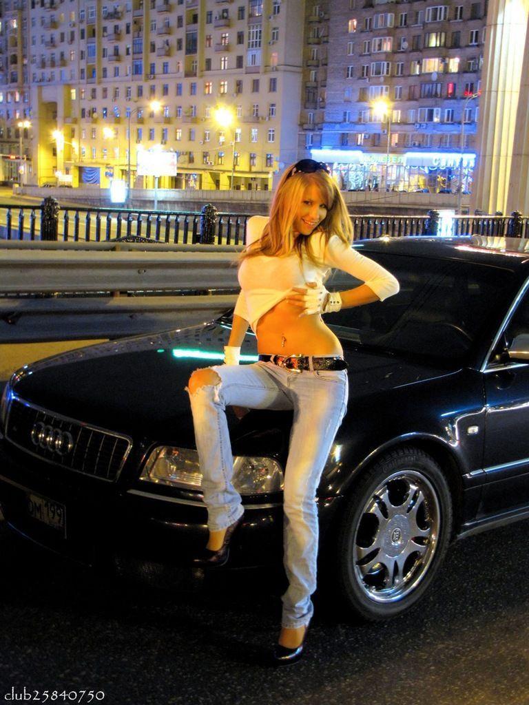 Фото с авто и девушки