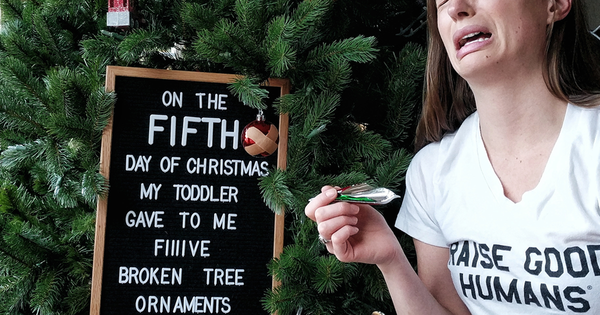 I've Created My Own Rendition Of The 12 Days Of Christmas That All Parents Can Relate To