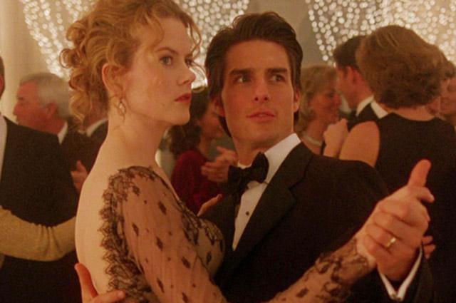 Николь Кидман и Том Круз в фильме «С широко закрытыми глазами». 1999 г.