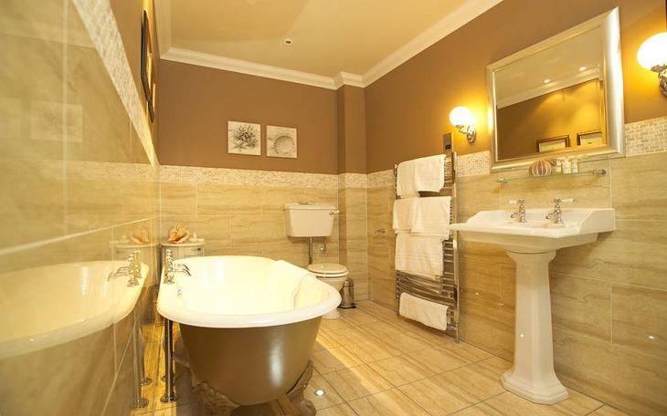Дизайн интерьера ванной комнаты туалета
