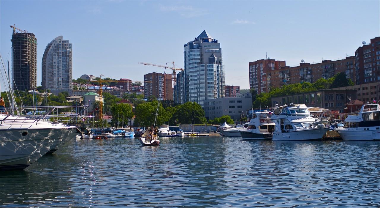 город Владивосток курорт, море, отпуск, россия