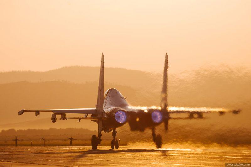 Фоторепортаж о Су-30СМ