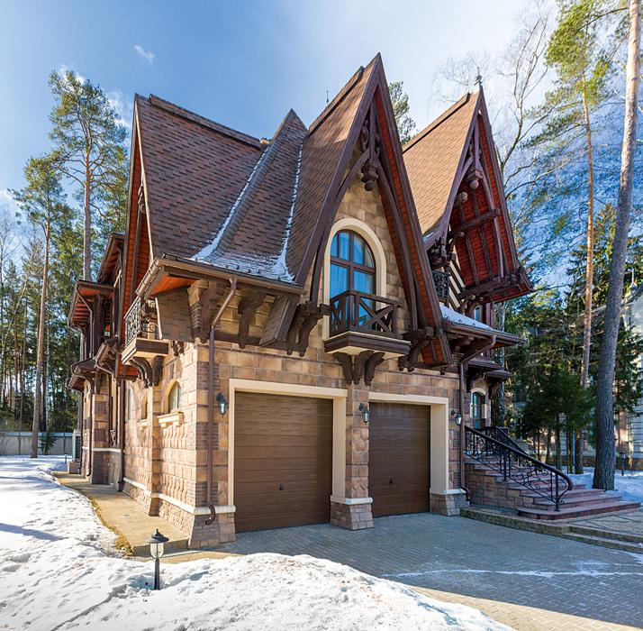 Фото красивых домов и коттеджей в России