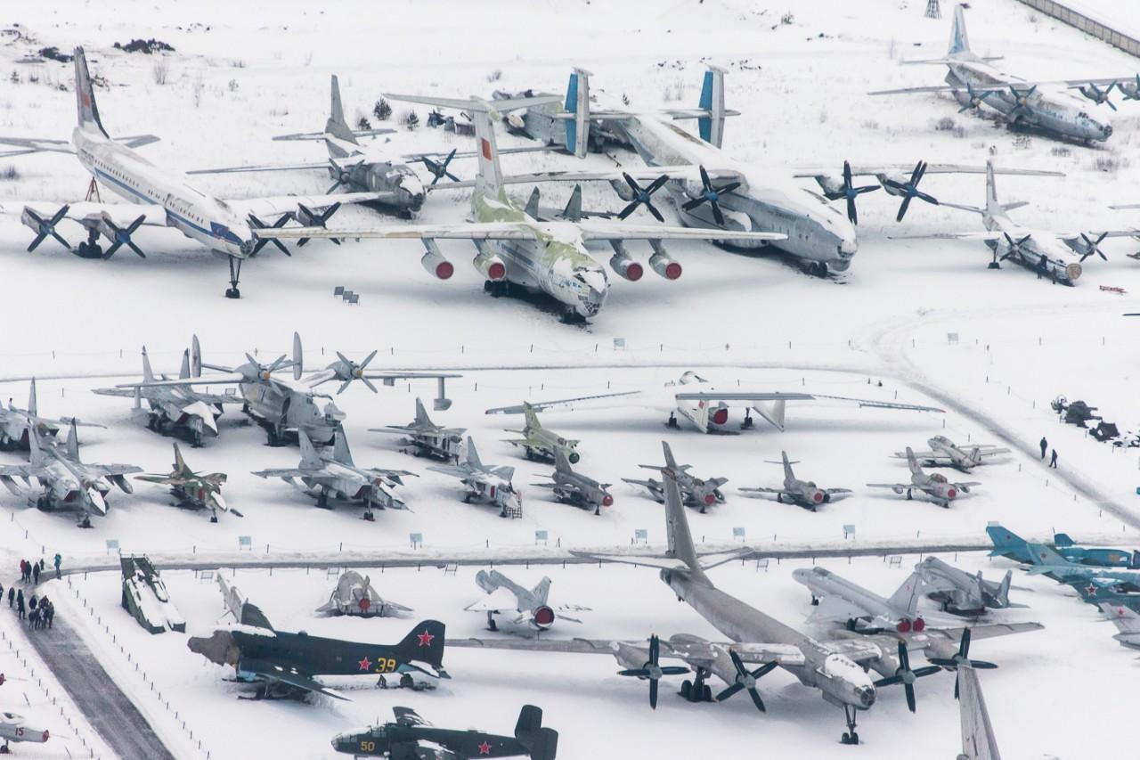 Игорь Колоколов - Музей в Монино с атмосферы