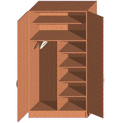 Шкафы из картона схемы110