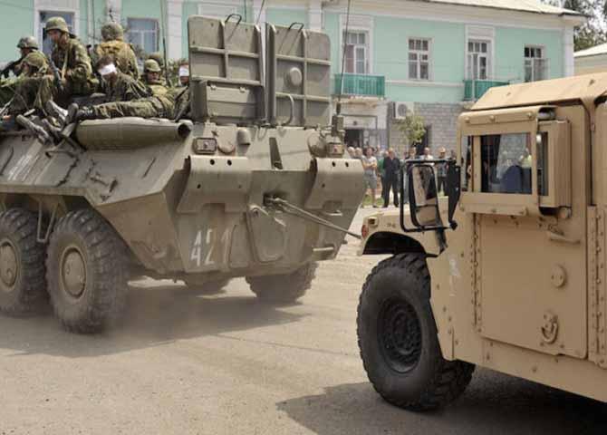 """ИноСМИ: Как российские военные отжали """"Хаммеры"""", принадлежавшие армии США"""