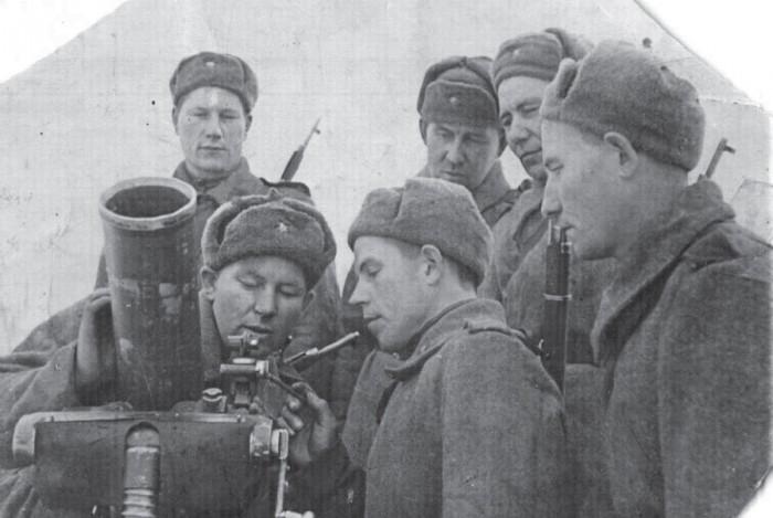 Тувинские солдаты