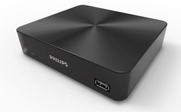 HEVC UHD880 Media Player front Philips представила новую линейку 4K телевизоров и медиаплеер