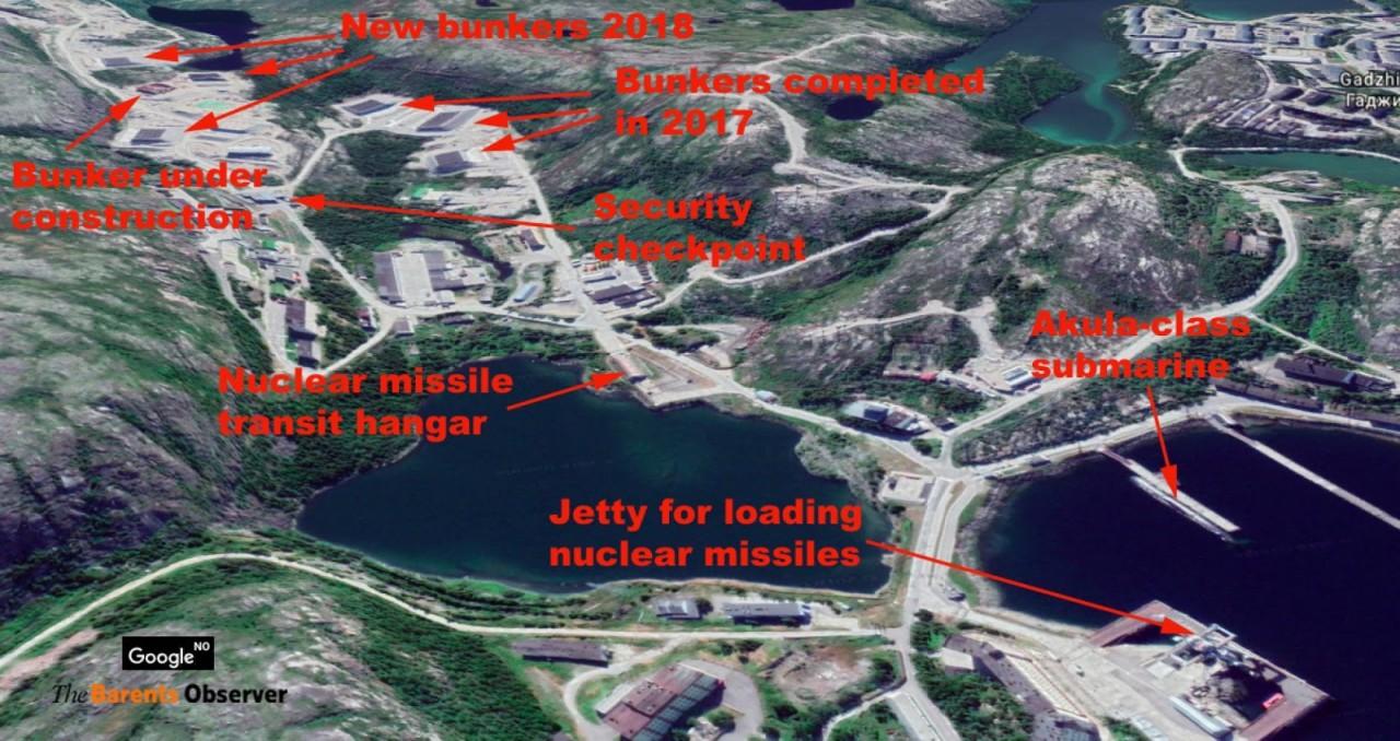 Развитие военной инфраструктуры РФ на Кольском полуострове