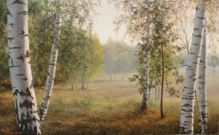пейзажи Евгений Бурмакин -11