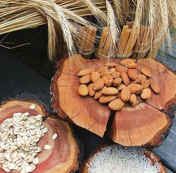 Орехи и злаки - основа любого убтана