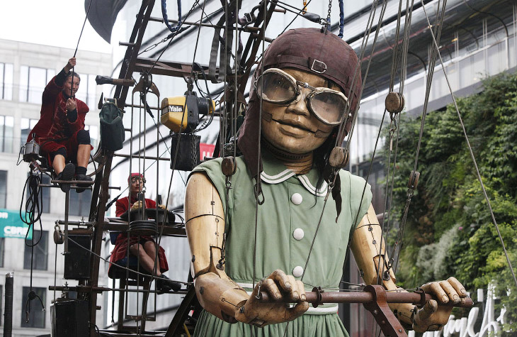Театр Royal de Luxe и их мех…