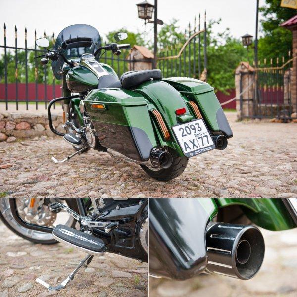 UberHarley — Harley-Davidson FLHRSE5 CVO Road King - Фото 11
